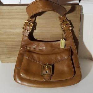 Coach Bags - Coach Handbag Legacy Saddlebag Leather Vintage N°G